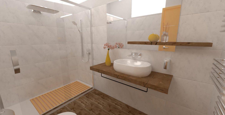 la corte B&B bagno camera